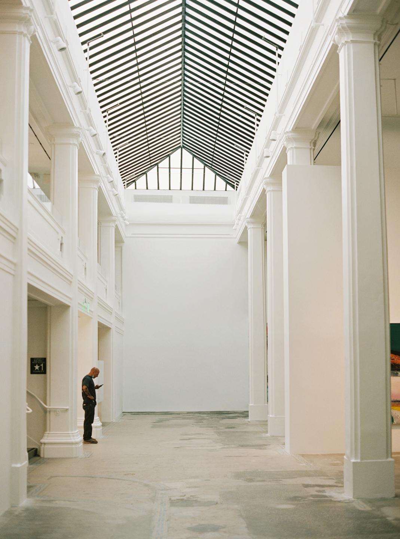 Hauser & Wirth Building Interior Museum Sunroof