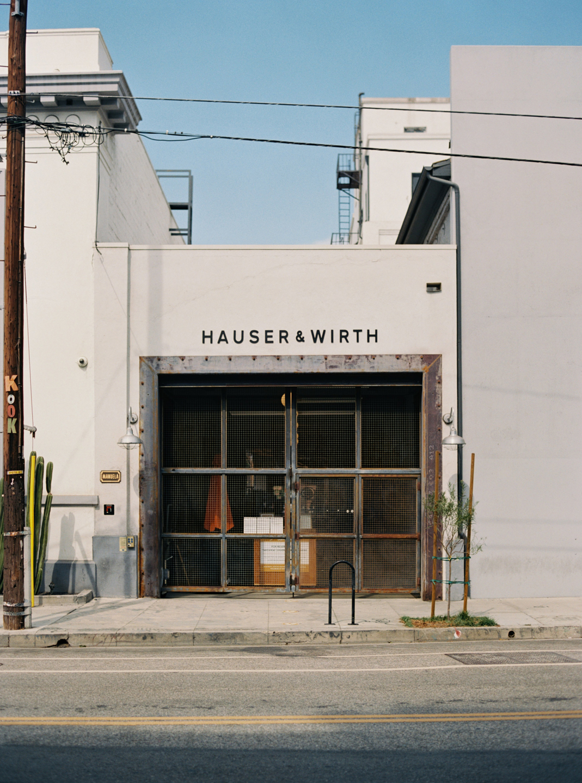Hauser & Wirth Building Exterior Back Door